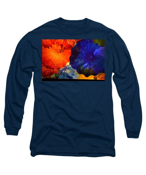 Chihuly-7 Long Sleeve T-Shirt by Dean Ferreira