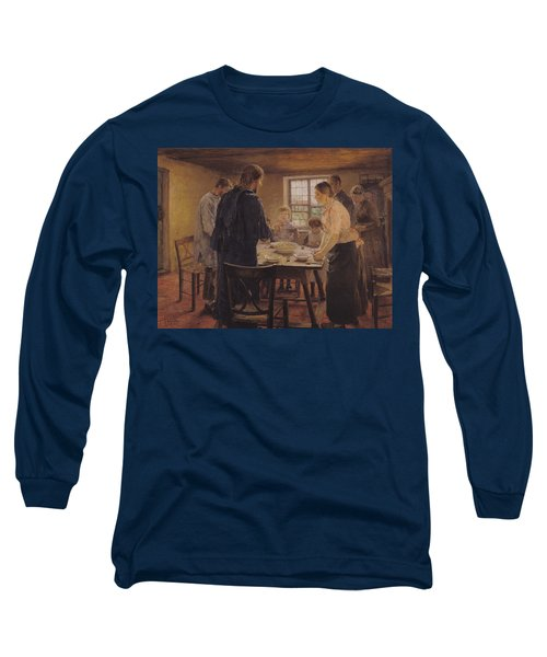 Christ With The Peasants Long Sleeve T-Shirt