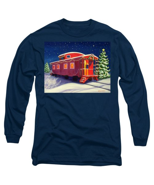Christmas Caboose Long Sleeve T-Shirt