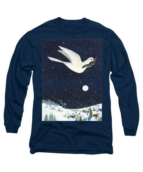 Christmas Dove Long Sleeve T-Shirt