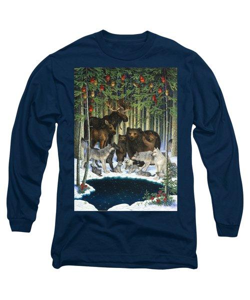 Christmas Gathering Long Sleeve T-Shirt