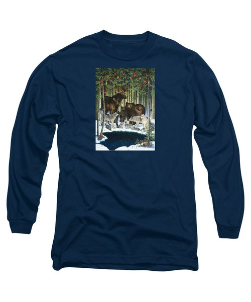 Christmas Gathering Long Sleeve T-Shirt