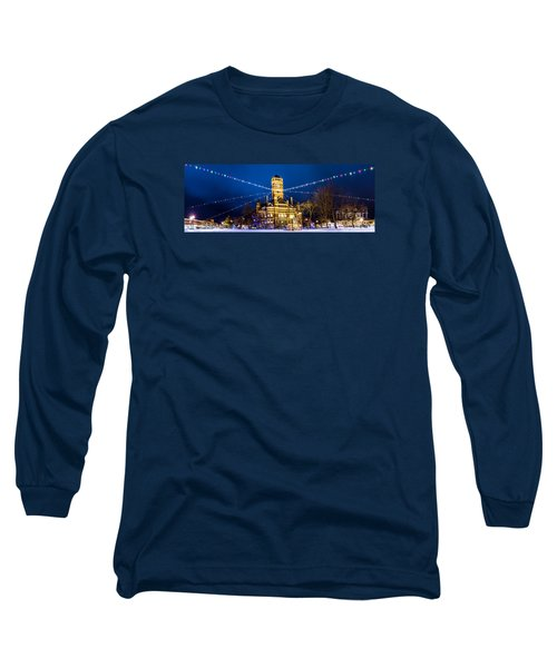 Long Sleeve T-Shirt featuring the photograph Christmas On The Square by Michael Arend