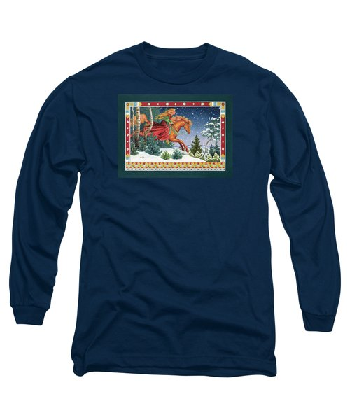 Christmas Ride Long Sleeve T-Shirt