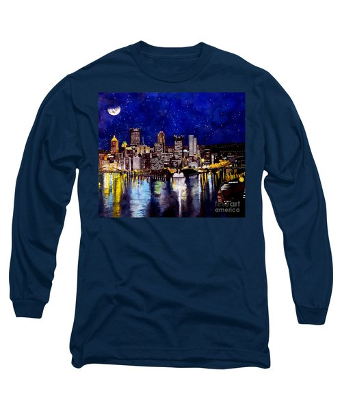 City Of Pittsburgh At The Point Long Sleeve T-Shirt