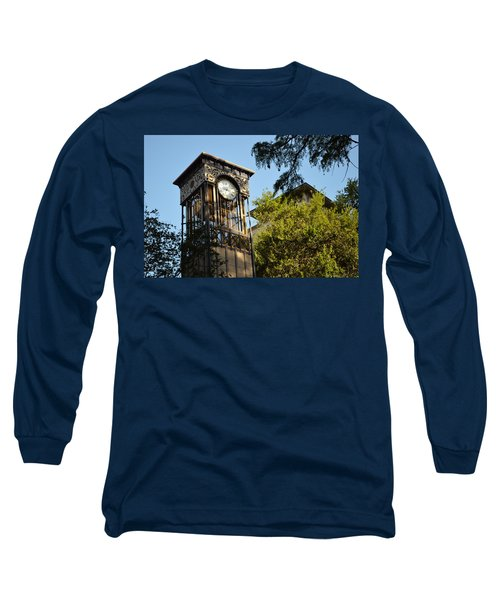 Long Sleeve T-Shirt featuring the photograph City Time  by Shawn Marlow