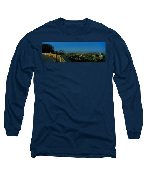 City Viewed From An Observation Point Long Sleeve T-Shirt