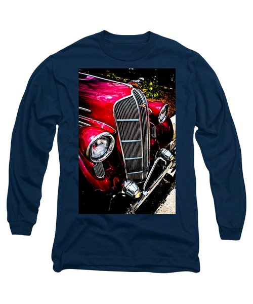 Long Sleeve T-Shirt featuring the photograph Classic Dodge Brothers Sedan by Joann Copeland-Paul