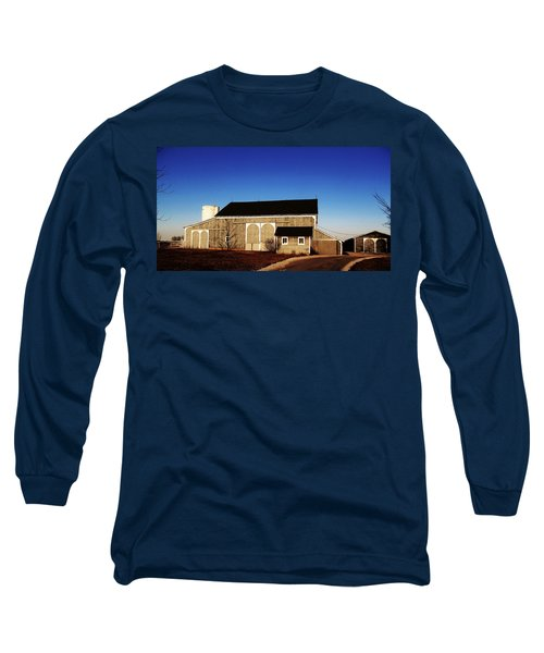Long Sleeve T-Shirt featuring the photograph Closed For The Day by Tina M Wenger
