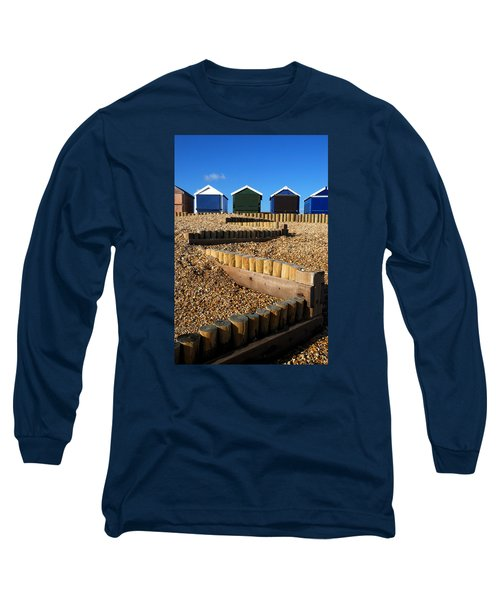 Long Sleeve T-Shirt featuring the photograph Closed For The Winter by Wendy Wilton