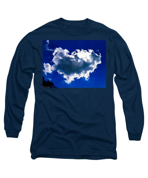 Cloud Long Sleeve T-Shirt by Nick Kirby