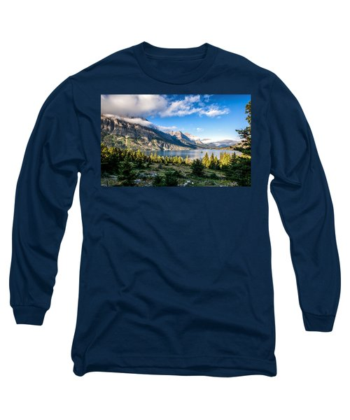 Clouds Roll In Long Sleeve T-Shirt by Aaron Aldrich