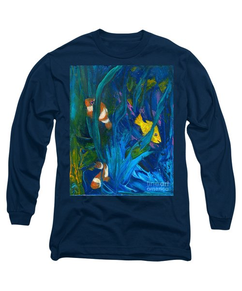 Clowning Around Long Sleeve T-Shirt by Denise Hoag