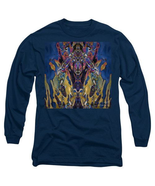 Color Abstraction Xxi Long Sleeve T-Shirt by David Gordon