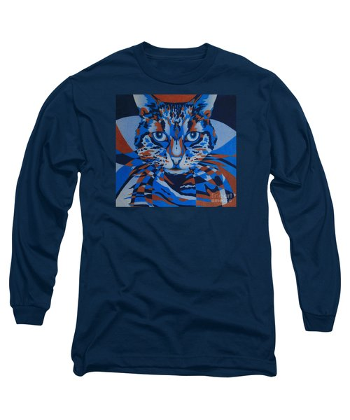 Color Cat IIi Long Sleeve T-Shirt by Pamela Clements