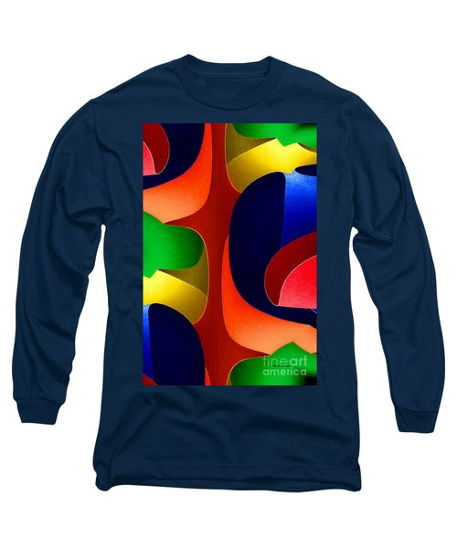 Long Sleeve T-Shirt featuring the digital art Color Maze by Rafael Salazar
