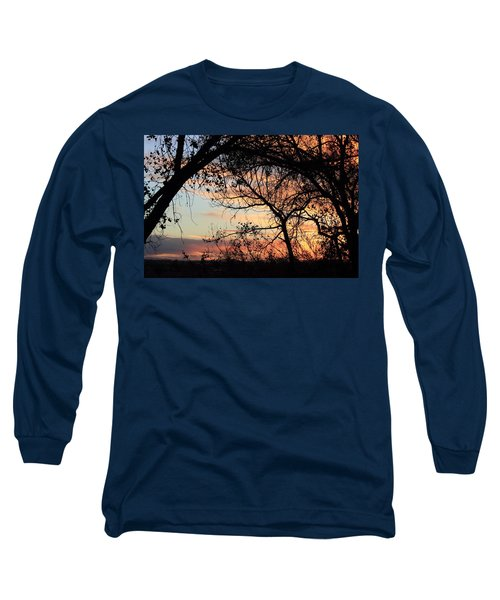 Color Through The Trees Long Sleeve T-Shirt