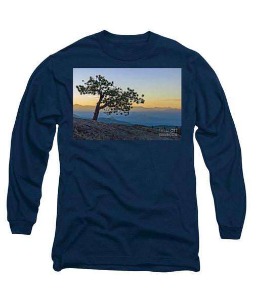 Colorado Sunset Long Sleeve T-Shirt