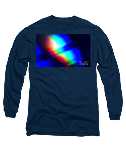 Long Sleeve T-Shirt featuring the photograph Coloured Light by Martin Howard