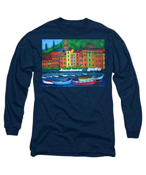 Colours Of Portofino Long Sleeve T-Shirt