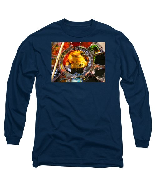 Colours On My Palette Long Sleeve T-Shirt