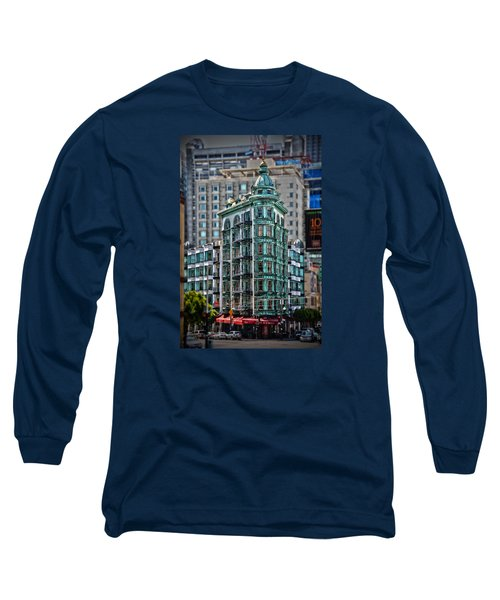 Columbus Tower In San Francisco Long Sleeve T-Shirt