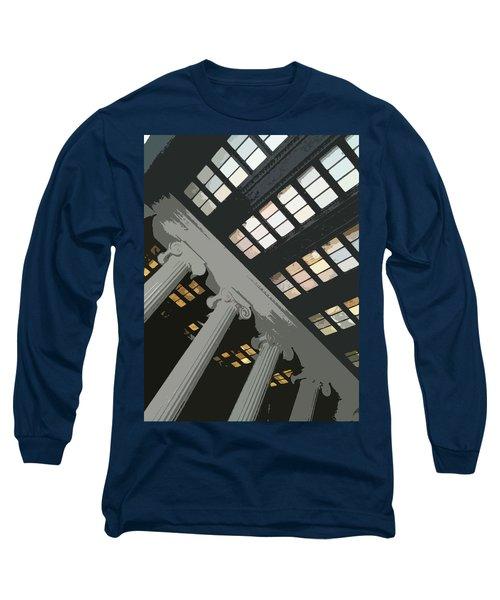 Columns Long Sleeve T-Shirt