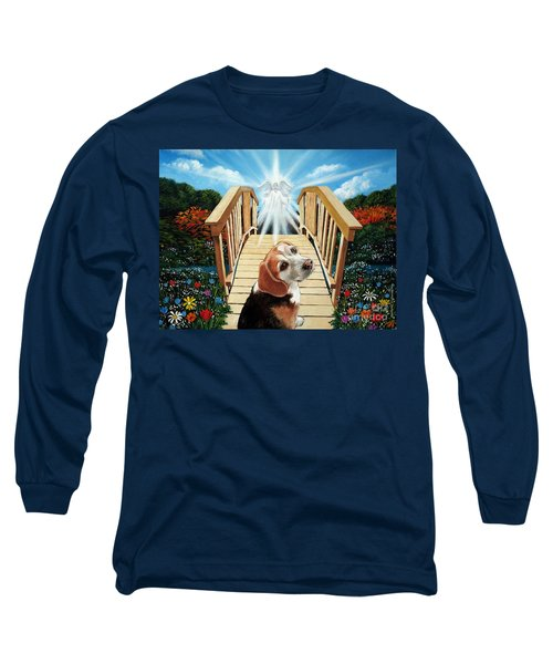 Come Walk With Me Over The Rainbow Bridge Long Sleeve T-Shirt