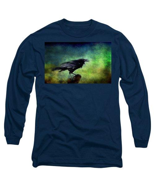 Common Raven Long Sleeve T-Shirt