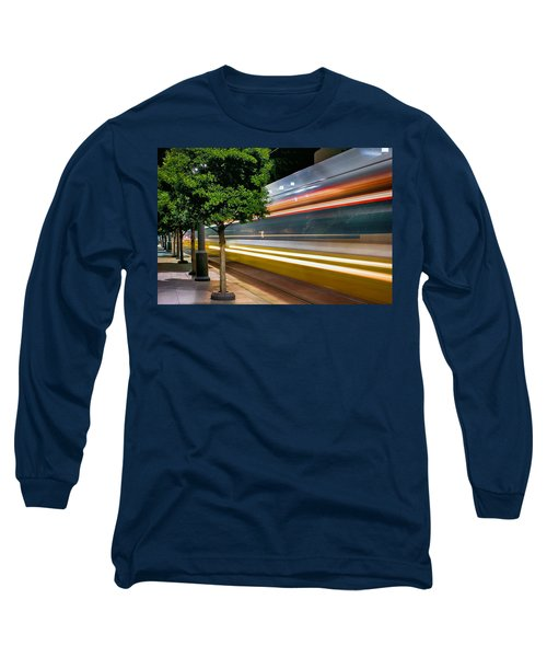 Dallas Commuter Train 052214 Long Sleeve T-Shirt