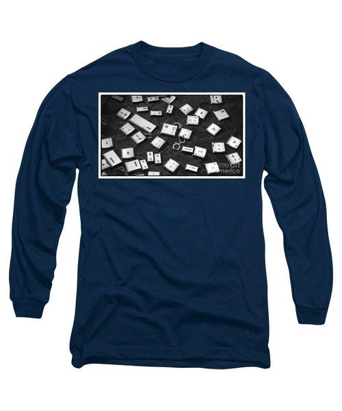 Computer Keys Long Sleeve T-Shirt