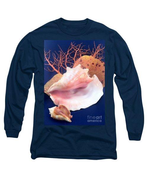 Conch Still Life Long Sleeve T-Shirt