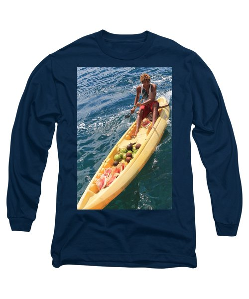 Conches And Coconuts Long Sleeve T-Shirt
