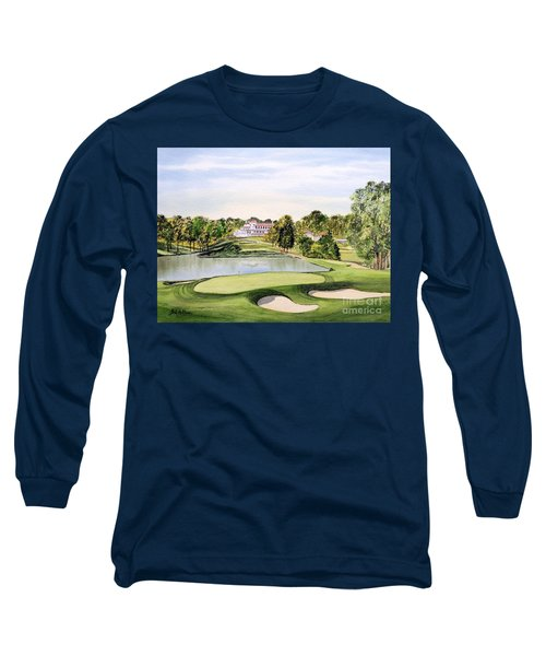 Congressional Golf Course 10th Hole Long Sleeve T-Shirt by Bill Holkham