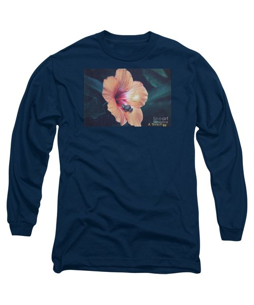 Coqui  Long Sleeve T-Shirt by The Art of Alice Terrill