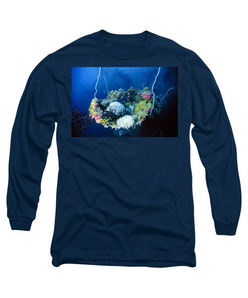 Corals On Ship Wreck Long Sleeve T-Shirt