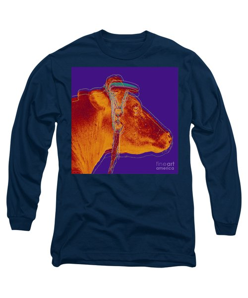Cow Pop Art Long Sleeve T-Shirt