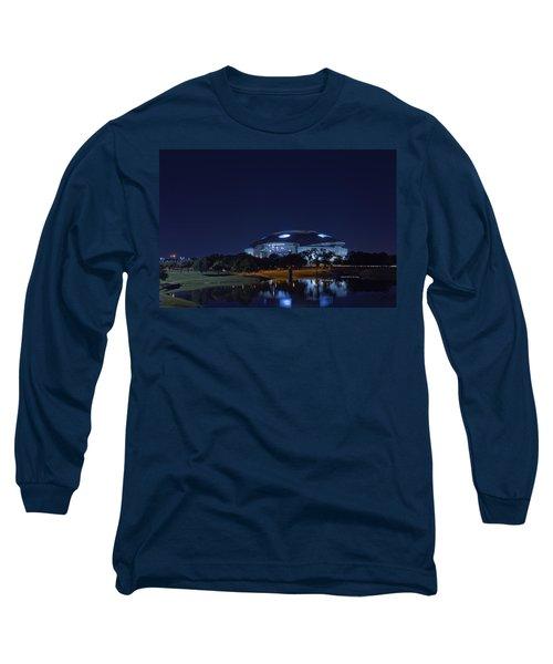 Cowboys Stadium Game Night 1 Long Sleeve T-Shirt