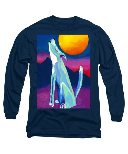 Coyote Azul Long Sleeve T-Shirt by Stephen Anderson
