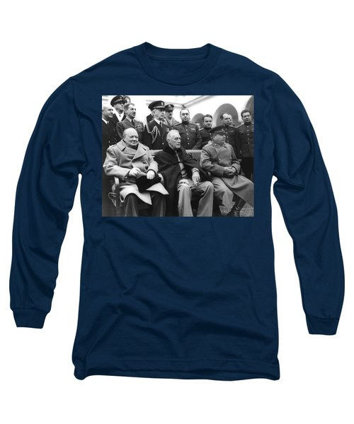 Crimean Conference In Yalta Long Sleeve T-Shirt