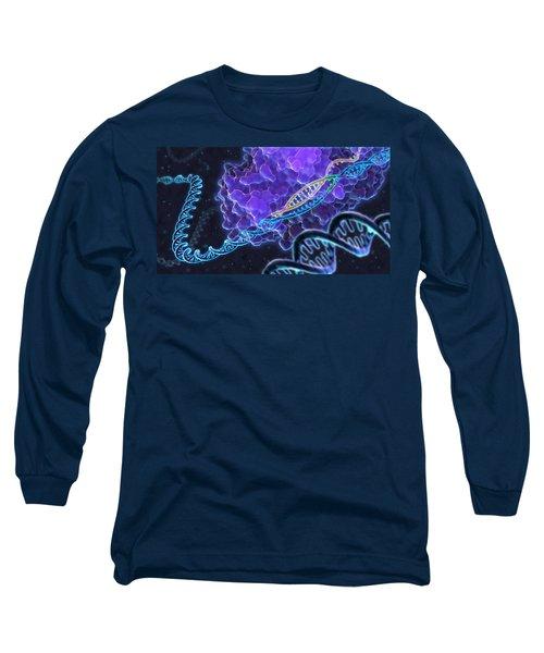 Crispr Genome Editing, Illustration Long Sleeve T-Shirt