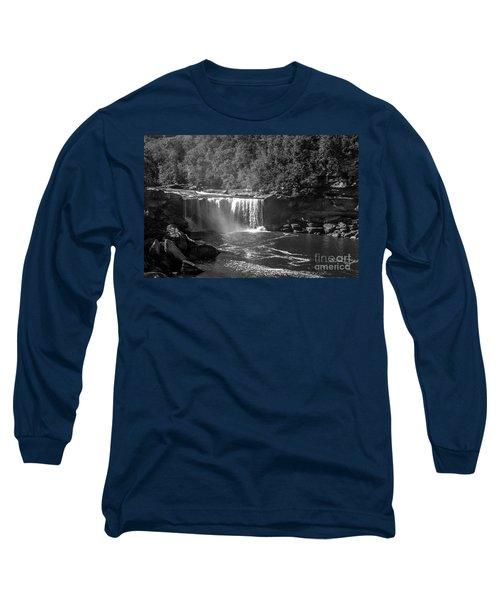 Cumberland Falls Five Bw Long Sleeve T-Shirt