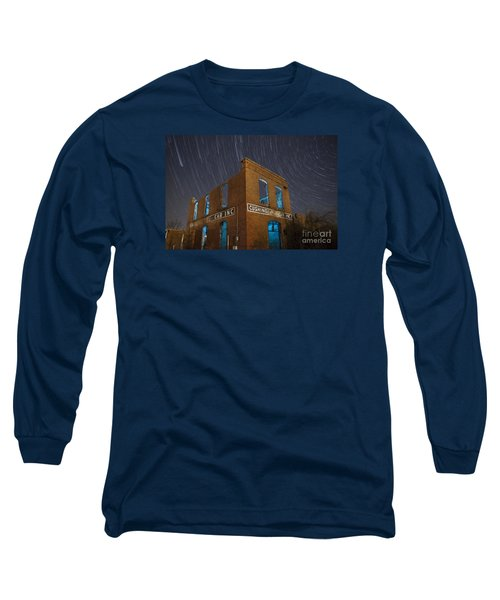Long Sleeve T-Shirt featuring the photograph Cushing Auto Service by Keith Kapple