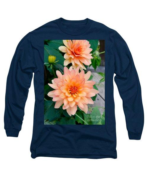 Dahlias Long Sleeve T-Shirt