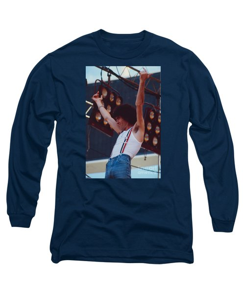 Dan Mccafferty Of Nazareth At Day On The Green 4th Of July 1979 Long Sleeve T-Shirt