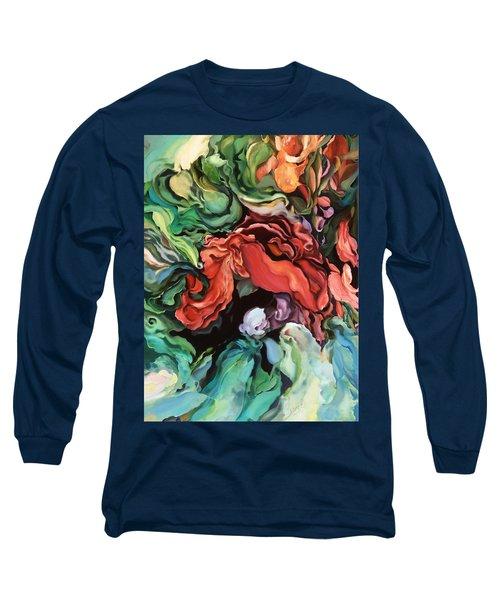Dancing For Joy - Original Artwork - Paintings Long Sleeve T-Shirt