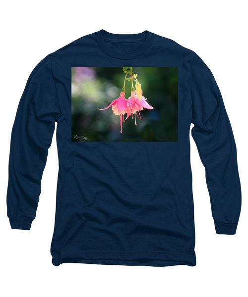 Dancing In The Wind Long Sleeve T-Shirt by Mariarosa Rockefeller