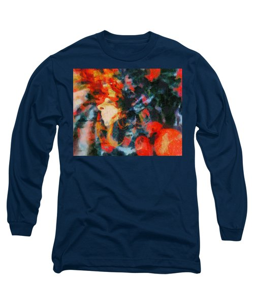 Long Sleeve T-Shirt featuring the painting Dangerous Passion by Joe Misrasi