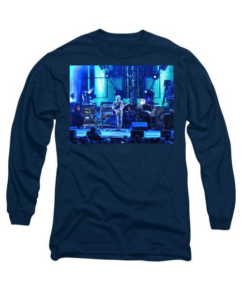 Long Sleeve T-Shirt featuring the photograph Dave And Tim Playing Out Of My Hands by Aaron Martens