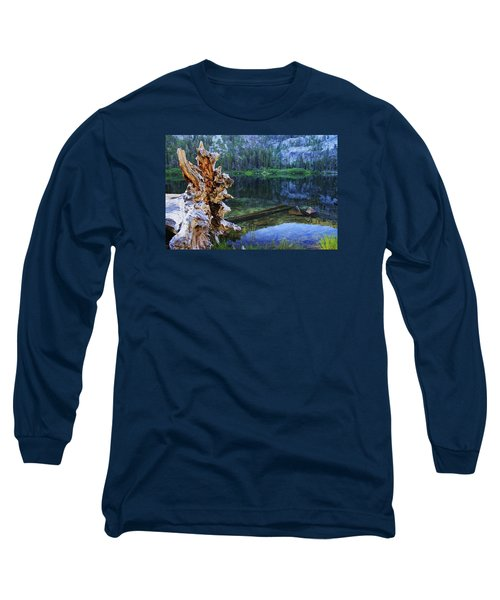 Long Sleeve T-Shirt featuring the photograph Dawn Arrives At Eagle Lake by Sean Sarsfield